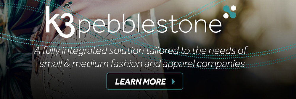 K3 pebblestone fashion ERP