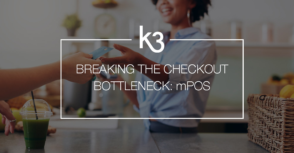 breaking the cash register bottleneck with mobile POS