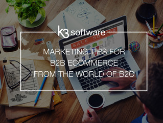 Marketing Tips for B2B eCommerce from the World of B2C