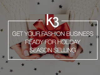 Get Your Fashion Business Ready for Holiday Season Selling