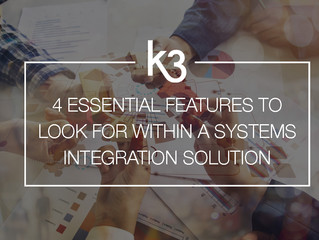 Four essential features to look for within a systems integration solution