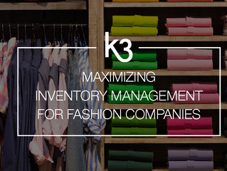 Maximizing Inventory Management for Fashion Companies with ERP