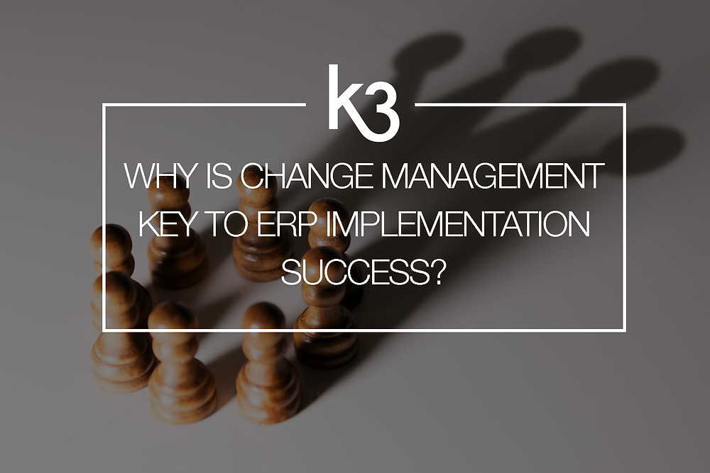 change management erp implementation