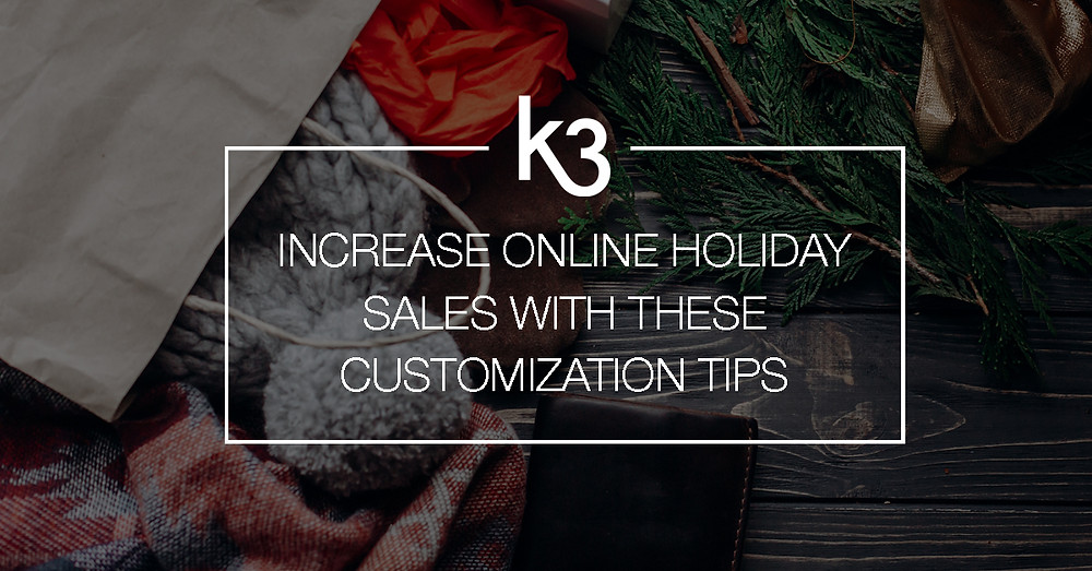 increase online holiday sales
