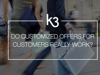 Do Customized Offers For Individual Customers Really Work?