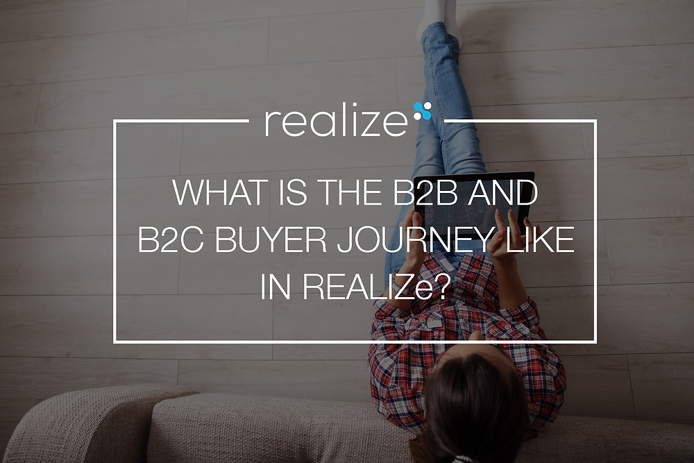 B2B and B2C buyer journey REALIZe