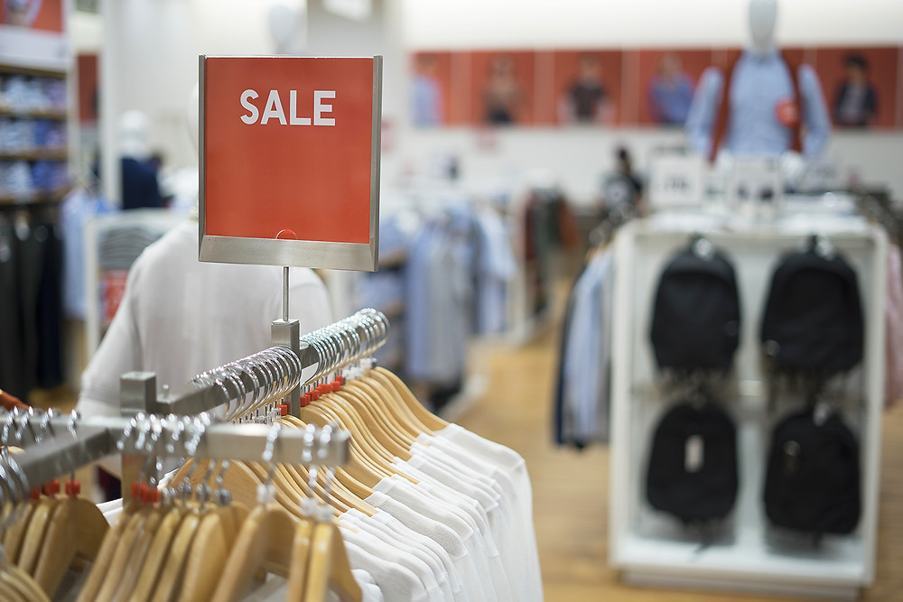 clearance sale to improve fashion retail business