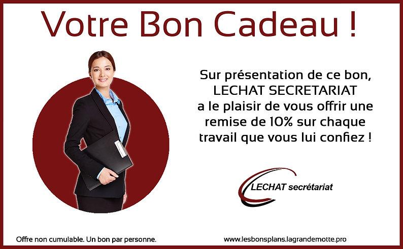 LECHAT SECRETARIAT - BON CADEAU 1 copie.