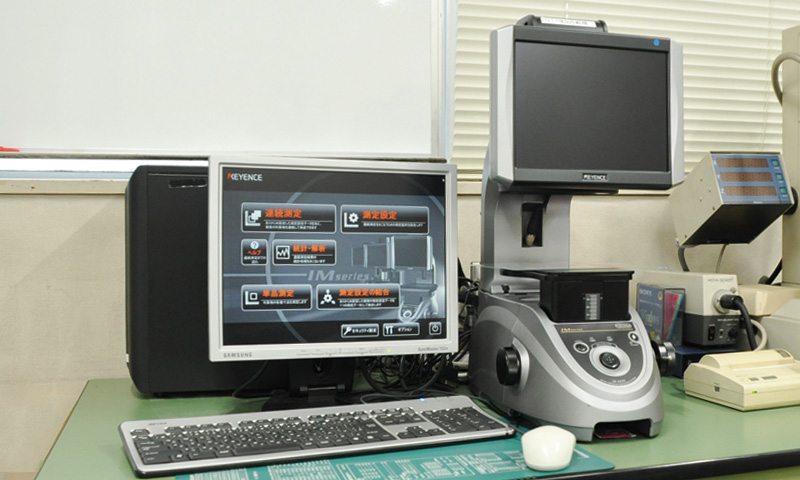 イメージング画像寸法測定器