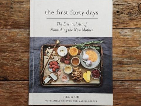 The First Forty Days, a postpartum book recommendation for new moms