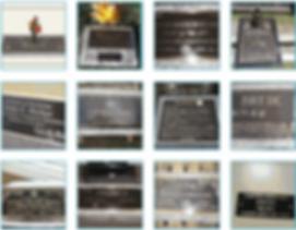 Bronze Cemetery Monuments