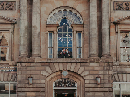 Garry & Mark - Trades Hall of Glasgow Wedding, Scotland