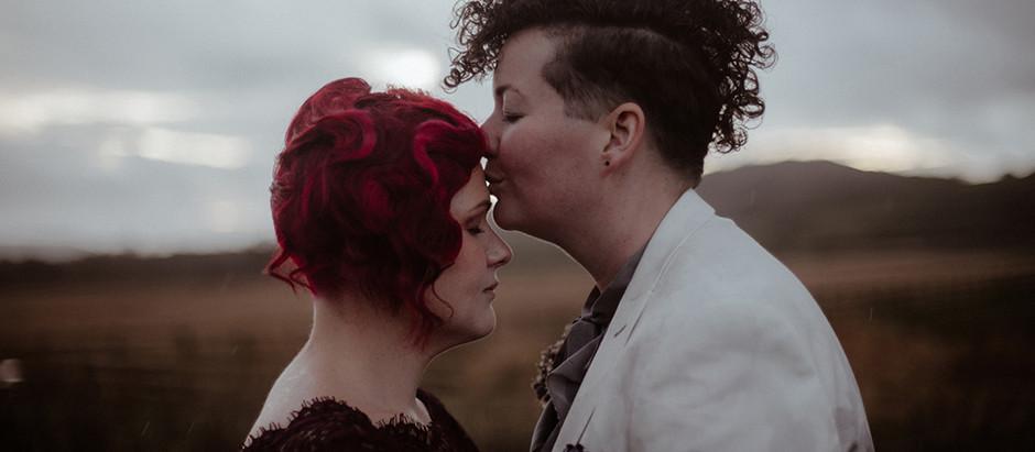 Kirsty & Emma - The Barn at Dalduff Farm Wedding, Scotland