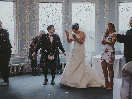 Wioletta & Hailey - Edinburgh Zoo Wedding, Scotland