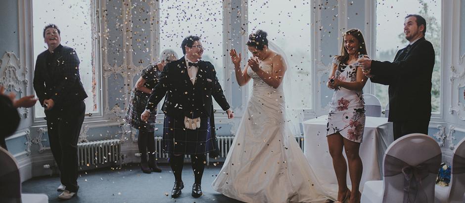 Wioletta & Hailey - Edinburgh Zoo Wedding, Scotland