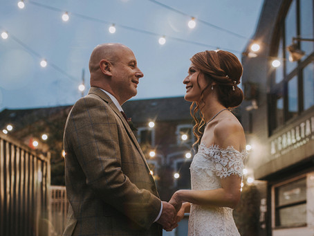 Maria & Steve - Barras Art & Design Wedding, Scotland