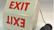 101-364798-637 Emergency Exit Sign for Beechcraft King Air