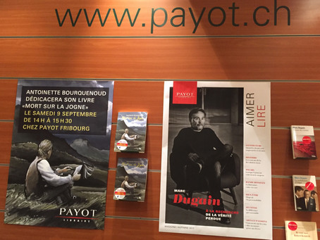 Dédicace à Payot Fribourg