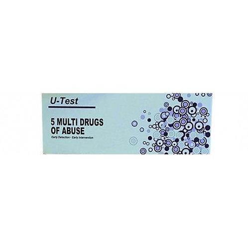 Multi Drug U-Test Kit (5)