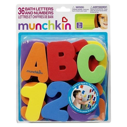 Magnetic Alphabet and Numbers