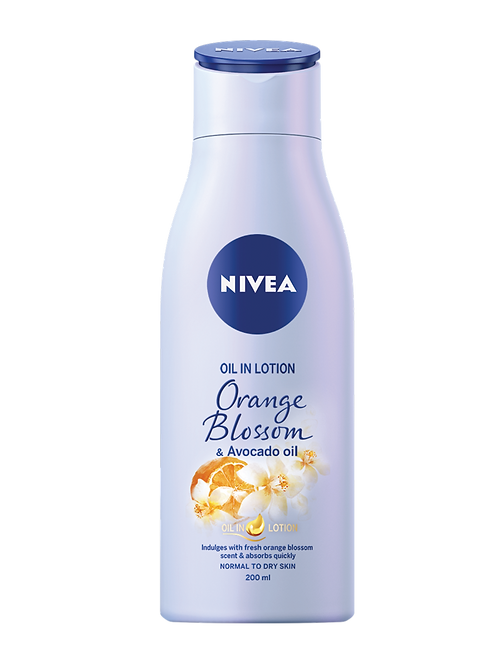 nivea Lotion Orange Blossom & Avocado Oil