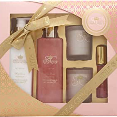Style & Grace Bath Set Gold