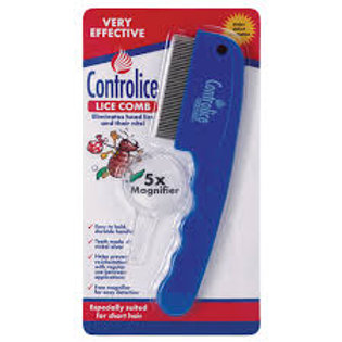 Controlice Comb With Magnifier