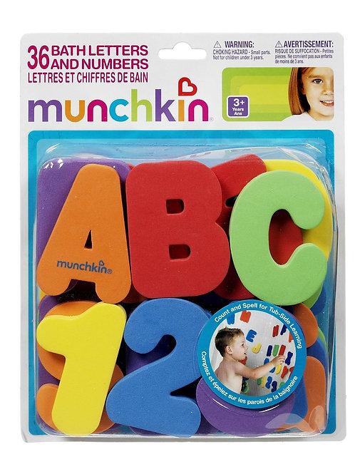 Munchkin bath Toys Letters