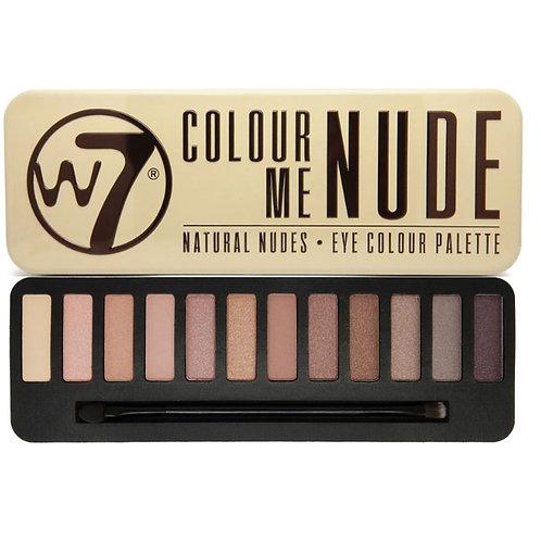 w7 Eye Shadow Nude Palette
