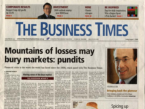 Business Times Newspaper