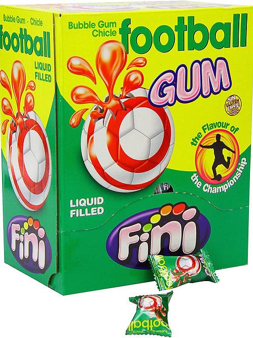 Football Wrap Bubble Gum