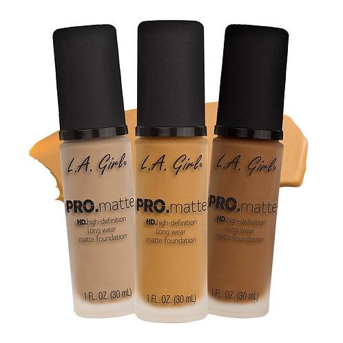 L.A Girl Pro HD Matte (Assorted)