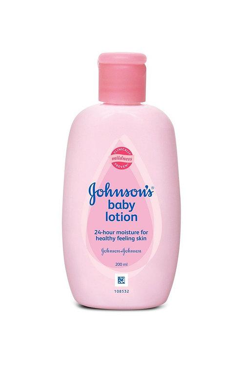 Johnson's & Johnson's Moisturizing Lotion