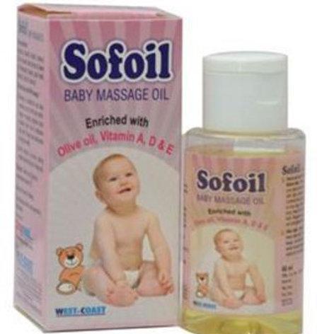 Sofoil Baby Massage Oil
