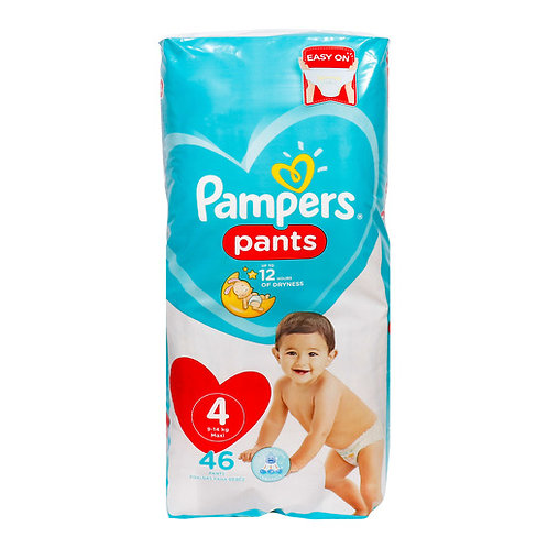 Pampers pants easy on