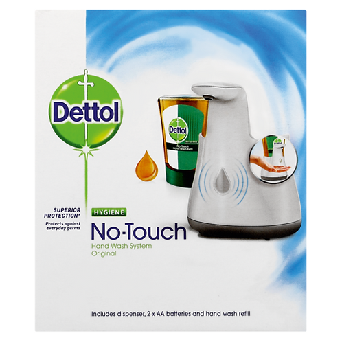 No Touch Hand Wash System
