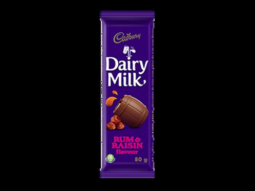 Cadbury Rum & Raisin Chocolate