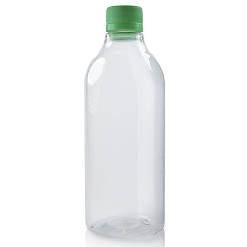 PVC Bottle With Tops