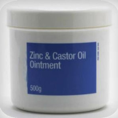 Zinc and Castor Ointment
