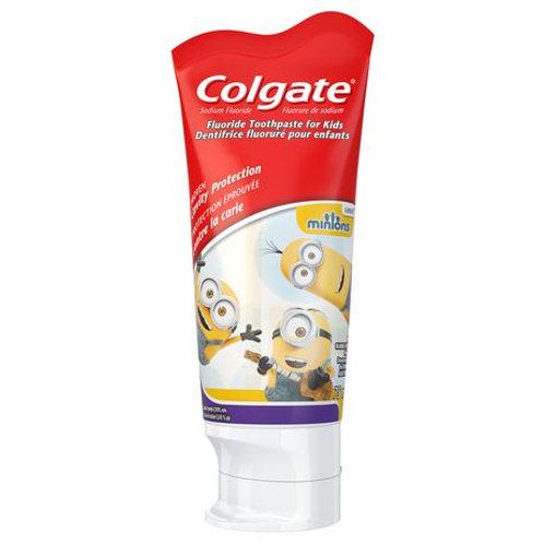 Colgate Kidz Toothpaste Character