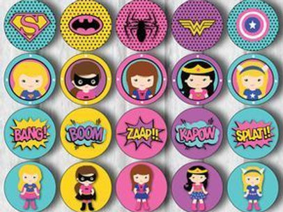 Kids Party Badges (Small)