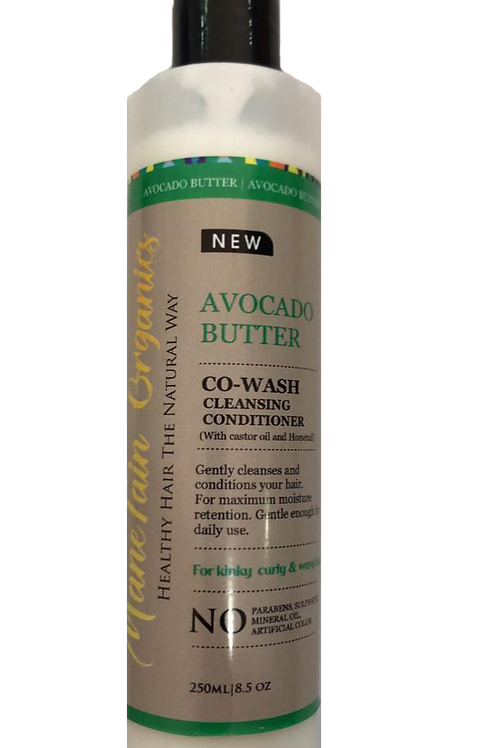 Avocado Butter Co-Wash Cleansing Conditioner 250ml