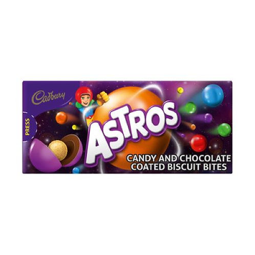 Astros Candy and Chocolate Biscuit