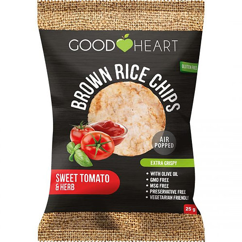 Good Heart Brown Rice Chips