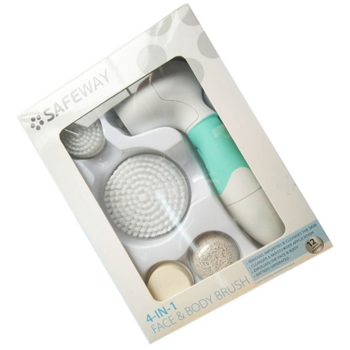 Safeway 4 in 1 Face and Body Brush