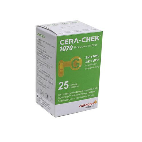 Cera-Chek Blood Glucose Test Strip