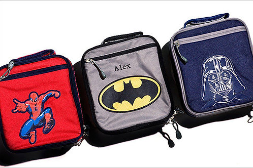 Assorted Superhero Lunchboxes
