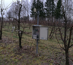 meteostation for agriculture