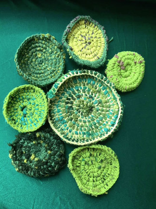 Crochet with Waste Fabric