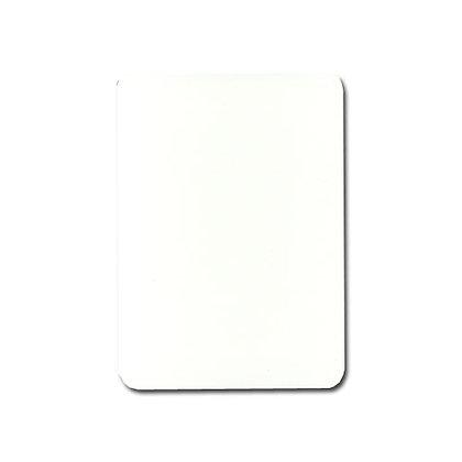 Blank 4 PIP 100% Plastic Poker/Jumbo.